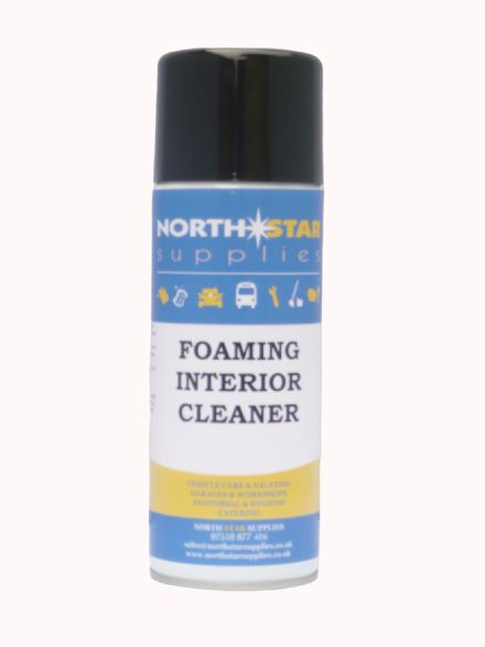 Foaming Interior Cleaner 400ml - Fabric & Upholstery Cleaner - North Star Supplies